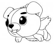 Hatchimals Cloud Puppit dessin à colorier