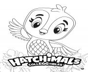 Hatchimals Penguala dessin à colorier
