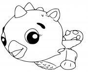 Hatchimals Cloud Draggle dessin à colorier