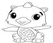 Hatchimals Polar Draggle dessin à colorier