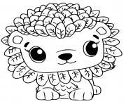 Hatchimals Leoriole dessin à colorier