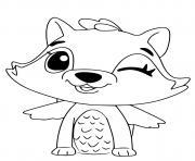 Hatchimals Raspoon dessin à colorier