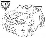 Transformers Rescue Bots Bumblebee dessin à colorier