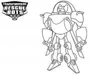 Transformers Rescue Bots Blades dessin à colorier