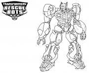 Transformers Rescue Bots Heatwave dessin à colorier