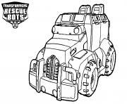 Transformers Rescue Bots Car dessin à colorier