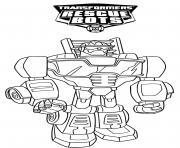Transformers Rescue Bots Lineart dessin à colorier