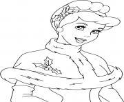 Cinderella all dressed up dessin à colorier