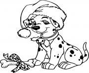 A present fit for a puppy dessin à colorier