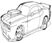 dessin voiture de tuning dessin à colorier