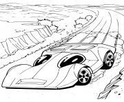 Hot Wheels Automobile voitures dessin à colorier