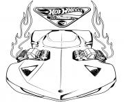 hot wheels acceleracers dessin à colorier
