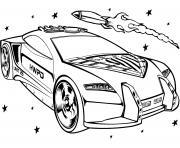 Hot Wheels for Girls dessin à colorier