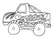 Hot Wheels Free dessin à colorier