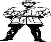 chef du departement de police paris dessin à colorier