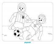 playmobil foot sport dessin à colorier