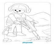 playmobil chatier de construction 2 dessin à colorier