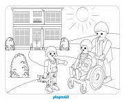 hopital pediatrique 3 dessin à colorier