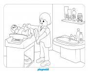 hopital pediatrique 2 dessin à colorier