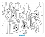 animaux playmobil le dierentuin 2 dessin à colorier