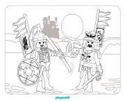 playmobil au pays des dragons 3 dessin à colorier