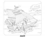playmobil les pirates dessin à colorier