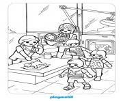 playmobil le veterinaire 2 dessin à colorier