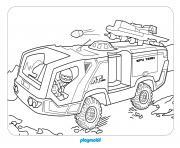 playmobil top agents dessin à colorier