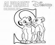 Coloriage Lettre A pour Alice dessin