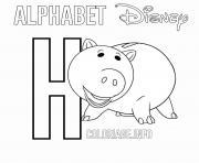 Coloriage Lettre A pour Ariel dessin