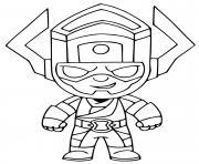 Galactus Fortnite dessin à colorier