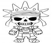 Oro Fortnite dessin à colorier