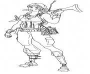 Renegade Raider rarest Fortnite dessin à colorier