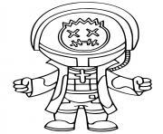 Astro Jack Fortnite Icon Series dessin à colorier