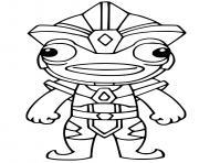 Atlantean Fishstick dessin à colorier
