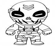 Metal Mouth Fortnite dessin à colorier