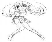 runo misaki dessin à colorier