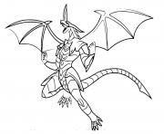 Drago leader of the Bakugan dessin à colorier