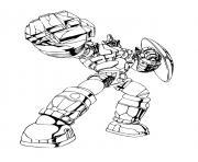 bakugan robot dessin à colorier