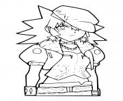 shoko marukura Bakugan dessin à colorier