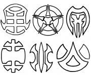 Bakugan Battle Brawlers Logo dessin à colorier