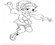 Lia Venegas de Bakugan Battle Planet dessin à colorier