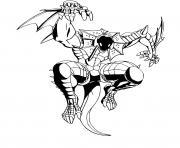 Preyas Dragon Bakugan dessin à colorier