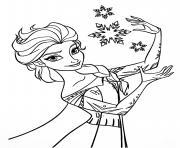 disney la reine des neiges 2 dessin à colorier
