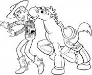 Coloriage disney Toy Story 4