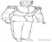 le prince charmant dessin à colorier