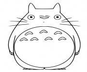 My Neighbor Totoro dessin à colorier