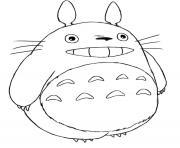 mon voisin totoro par hayao miyazaki dessin à colorier