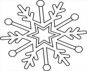 flocon de neige magie de Elsa Reine des Neiges 2 dessin à colorier
