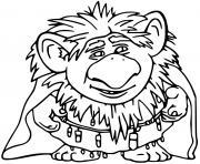Pabbie La Reine des Neiges 2 dessin à colorier